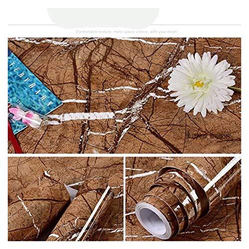 WHYBH HYCSP Selbstklebende Tapete Marmor Aufkleber Wasserdicht Hitzebeständige Küchenarbeitsplatten Tischmöbel Schrank-Wand-Papier (Color : Dl 36, Size : 5m x 40cm)
