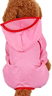 Dog Clothes for Dog Raincoat Waterproof Overalls Goods for Pets Poncho Rain Umbrella Coats for Chihuahua