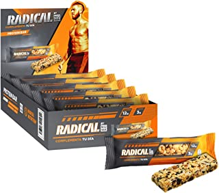 Barras RADICAL by NÜWA con 12g de proteína (10 pz