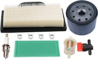 Hilom 698754 273638 Air Filter 691035 Fuel Filter 696854 Oil Filter for Briggs & Stratton Intek Extended Life Series V-Twin 18-26 HP Lawn Mower String Trimmer Brushcutter