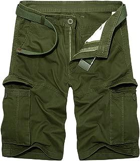 Vendredinoir Pantalones Pantalones Cortos De Algod/ón De Gran Tama/ño para Hombres Pantalones Cortos De Algod/ón para Hombres Verano Al Aire Libre Bolsa Floja Sin Cintur/ón