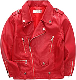 Toddle/Big Girl's Soft Faux Leather Jacket