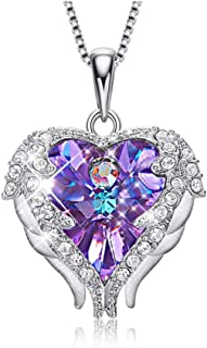 Best angel wing heart charm Reviews