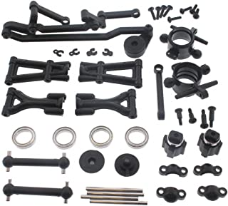 HPI 1/10 E10 Drift Mustang Front Suspension ARMS Drive SHAFTS Carriers Bearings