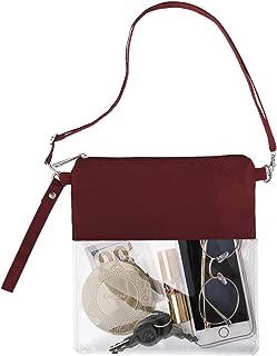 clear football purse