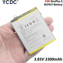 2PCS Replacement Battery,Original BLP637 Battery for OnePlus Five One Plus 5 5T 3300mAh High Capacity