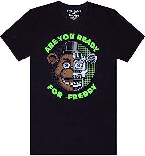 Five Nights at Freddy's FNAF Ben je klaar voor Freddy Boy's zwarte T-shirt