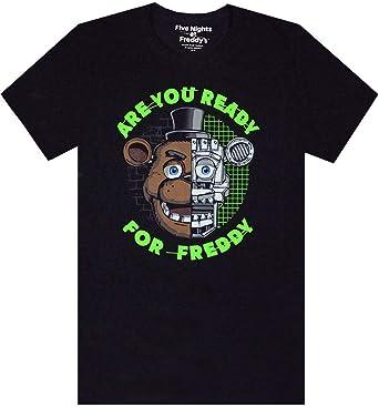 Five Nights At Freddy's - Camiseta para chico con mensaje en inglés de