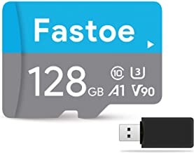High Speed Micro SD Card 128GB Class 10 U3 with Reader & Adapter, Micro SD Card for Camera, GoPro, Dash Cam, Nintendo Switch