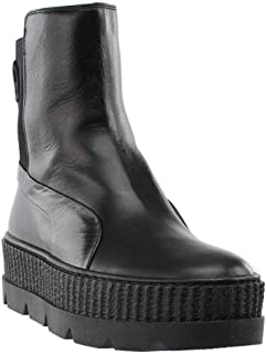 Best rihanna black and white boots Reviews