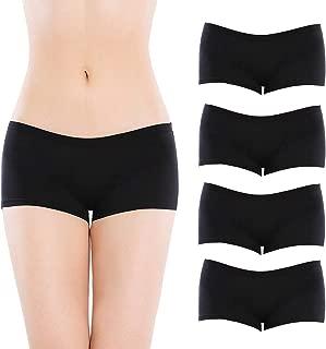 Lingerie Women's Comfort Soft Low Rise Cotton Boyshorts Panties