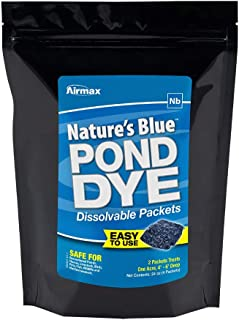 Airmax Pond Dye Water Soluble Packs (Nature's Blue - 4 Packets)
