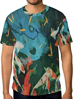 Crewneck Men's T-Shirt Colorful Dinosaurs Classic Humor Novelty Graphic Funny Short Sleeve Tops