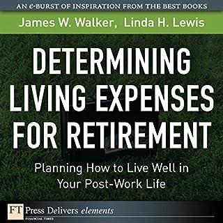 Determining Living Expenses for Retirement cover art