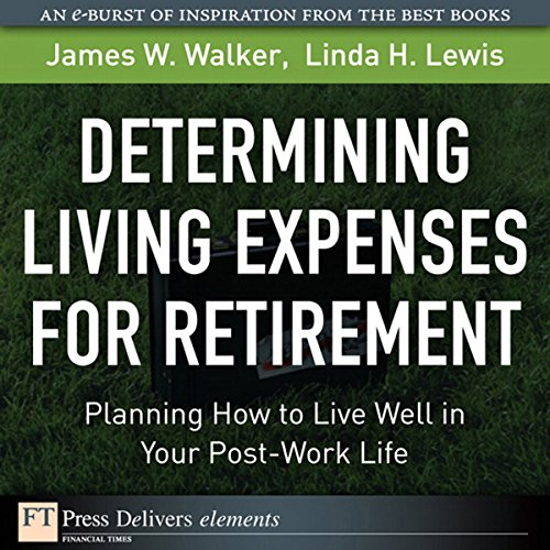Determining Living Expenses for Retirement audiobook cover art