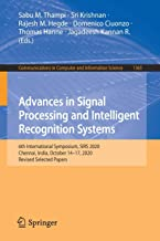 Advances in Signal Processing and Intelligent Recognition Systems: 6th International Symposium, SIRS 2020, Chennai, India,...