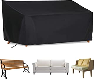 Iptienda Patio Chair Cover, Furniture Benches Table Sofa Cover, Dustproof Waterproof loveseat Cover for Indoor Garden Outd...