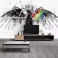 RTYUIHN 3D壁紙壁画シンプルモダンパーソナリティアート抽象クリエイティブリビングルームベッドルームベッドルームリビングルームモダンウォールアートデコレーション