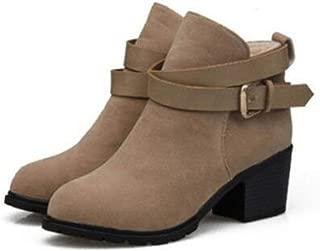 Feilongzaitianba Women Boots Black Fur High Heel Casual Luxury Shoes Spring Autumn Ankle