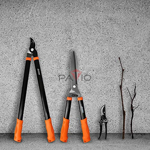 Patio Paradise iGarden 3 Piece Tree and Shrub LopperShearsPurner Set Garden Tool Set Tree Trimmer Branch Cutter Kit