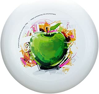 Eurodisc 175g 4.0 ORGANIC Ultimate Frisbee Competition Disc Fotoprint APPLE