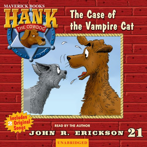 The Case of the Vampire Cat audiobook cover art