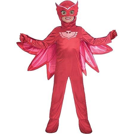 Amscan - Disfraz PJ Mask Owlette Luxe - Talla para 7-8 años ...