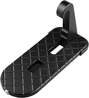 Car Door Step - Vehicle Hooked on U Shaped Slam Latch Doorstep - Vehicle Folding Ladder for Jeep SUV Car, Easy Access to Car Rooftop Roof-Rack