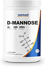 Nutricost D-Mannose Powder 250 Grams - Non-GMO and Gluten Free