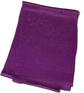 [でぃあじゃぱん] 正絹帯揚げ 地紋入り 伝統文様 単色 和装小物