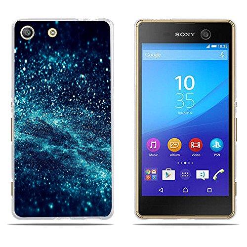 DIKAS Sony Xperia M5 (E5603 E5606 E5653) Hülle, 3D Mode Muster Transparente Silizium TPU Mode Kreative Matte TPU Vollkarosserie Schutz für Sony Xperia M5 (E5603 E5606 E5653)- Pic: 04