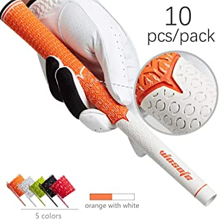 wosofe Golf Grips Club Irons Mens Cord 1 Set Rubber Professional Soft Non-Slip and Wear Resistant