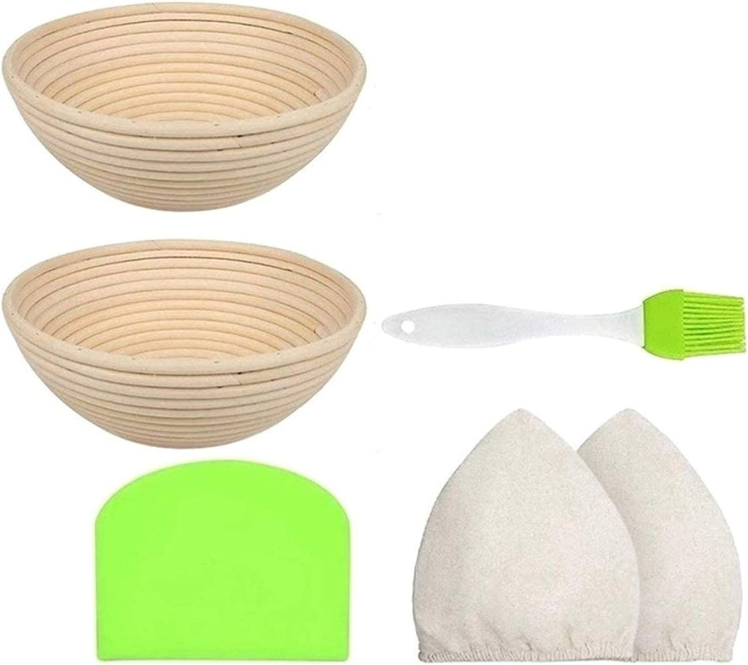 YWSZY Bread Proofing Baskets Baske Special price Round Ranking TOP3 Bowl Set