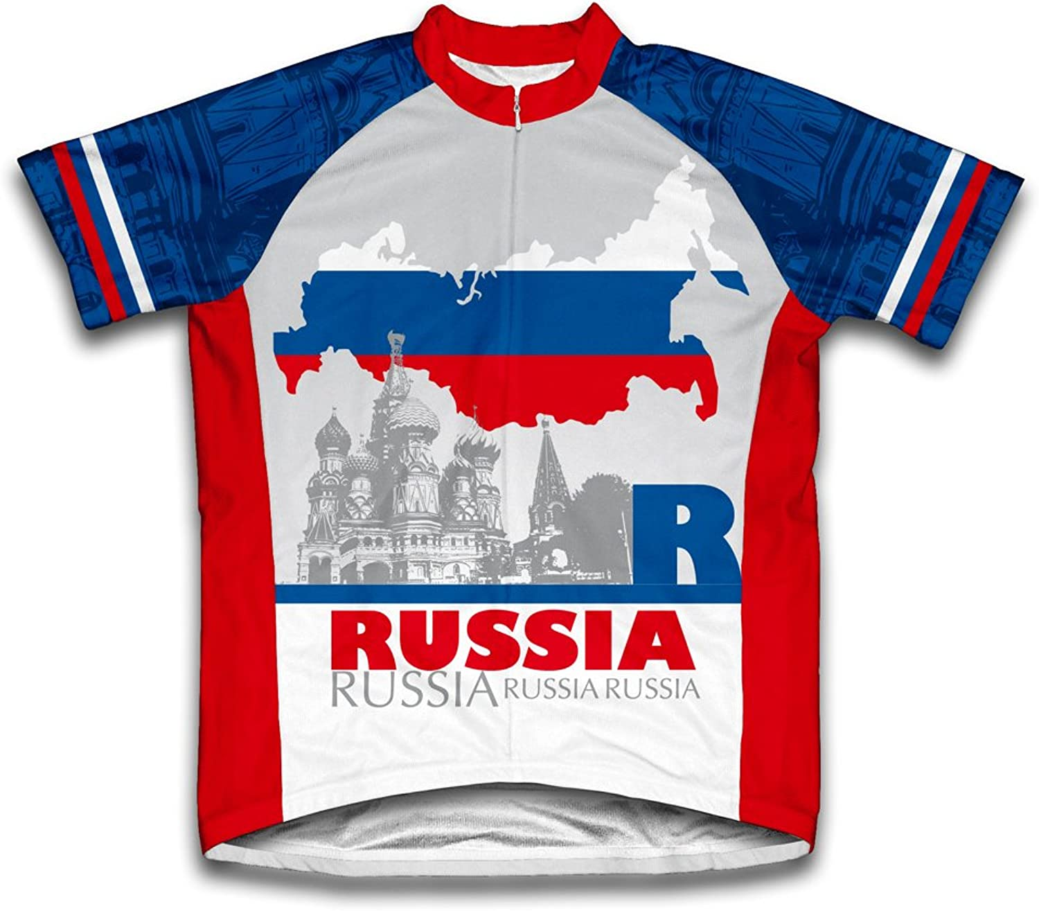 729ed4ac652 Russia Short Cycling Jersey for Youth ScudoPro Sleeve nwqlqn6067 ...