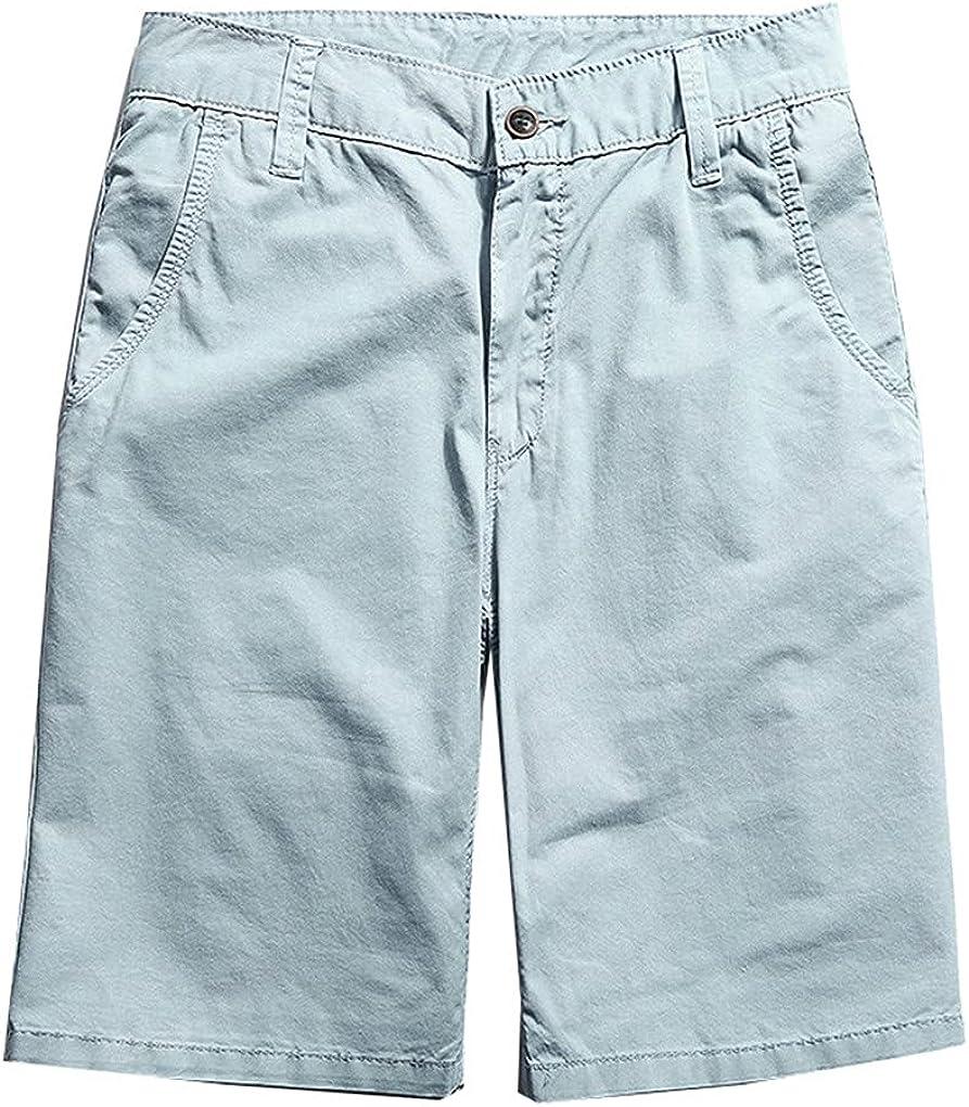Summer Fashion Sexy Casual Calf-Length Cargo Mens Cotton Quality Shorts Male Shorts Capris Fat