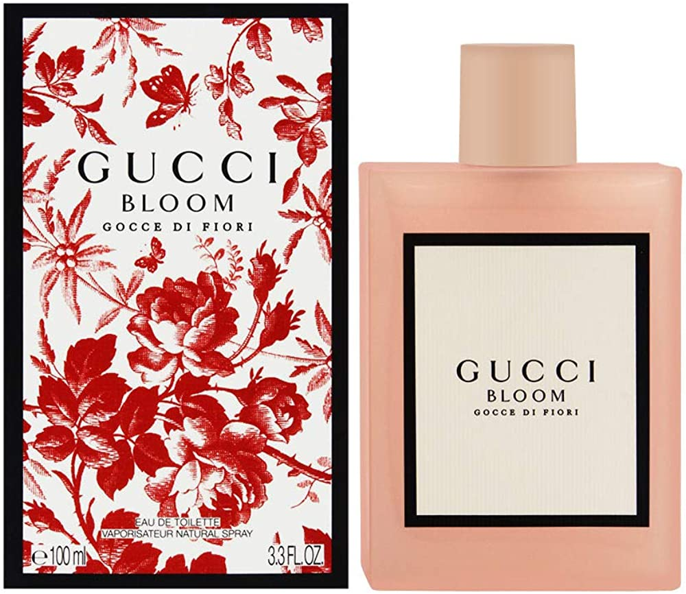 Gucci bloom gocce di fiori, eau de toilette  per donna, 100 ml 3614225307034