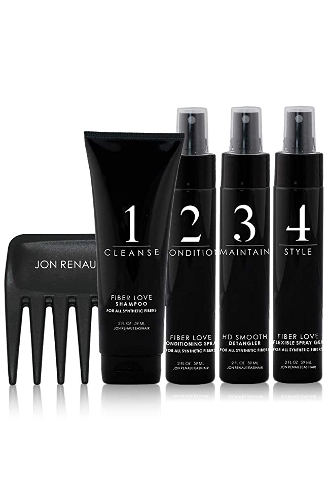 Jon Renau Synthetic Hair Travel Kit
