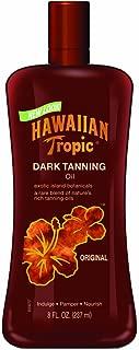 Hawaiian Tropic Dark Tanning Oil, 8 Fluid Ounce Bottles (Pack of 3)