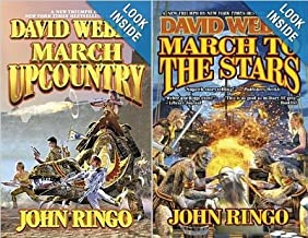 March Upcountry & March to the Stars ( set of 2 books )