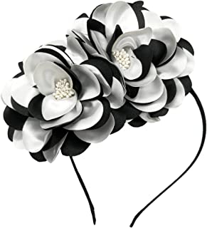 Vintage Elegant Flower Fascinator Hair Clip Headband