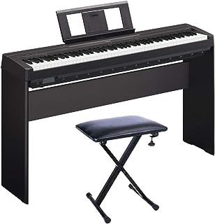 YAMAHA P45 Piano Digital + Soporte L85A + Banqueta