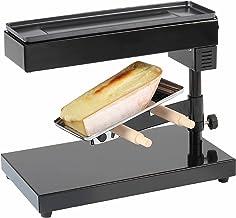 Appareil à raclette pour faire fondre un fromage entier (appareil sur pied, 600 W, hauteur et angle réglables, thermostat)