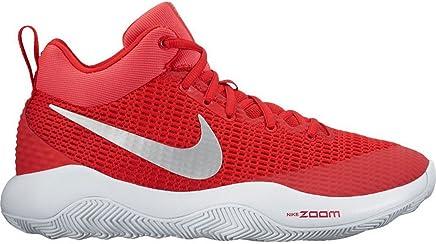 Nike Herren Zoom REV TB Basketball Schuhe Rot Metallic silberweiss (922048–600) (10) B00E62DS34 | Internationale Wahl