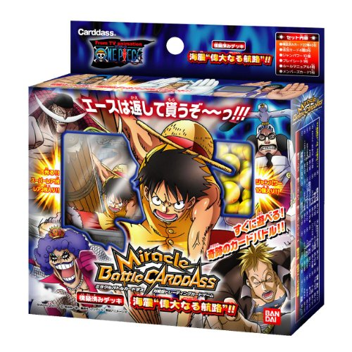 Miracle Battle Carddas One Piece Prebuilt Deck [Seaquake Grand Line!!] (japan import)