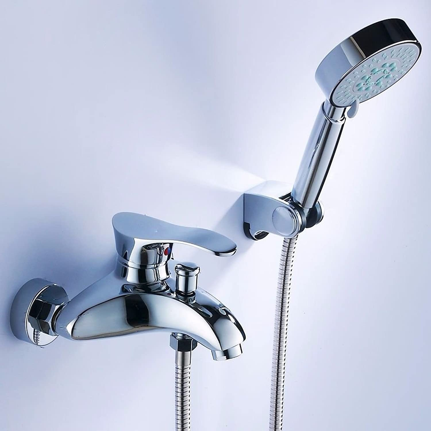 Lalaky Taps Faucet Kitchen Mixer Sink Waterfall Bathroom Mixer Basin Mixer Tap for Kitchen Bathroom and Washroom All Copper Mixing Valve Hot and Cold