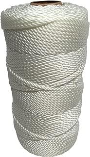 SGT KNOTS Twisted Nylon Seine Twine #42 100% Nylon Fiber- High Tensile Strength & Versatile Utility Twine - Crafting, Camping, Boating, Mason Line, Fishing, Hunting, Survival, Marine (485 ft)