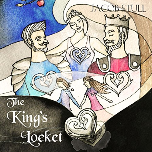 The King's Locket audiobook cover art