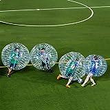 BUBBLEU24(TM) 4palline Bubble pacchetto per body Zorb Zorbing gonfiabile umano battente Ball Bubble calcio gioco