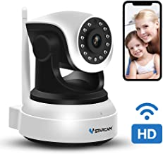 WiFi Camera,VStarcam Wireless IP Camera with Night Vision for Indoor, 2 Way Audio and Multi-Users Home Security Monitor,PTZ Motion Detection Pet Baby Cam, with Cloud Service, Support Max 128G SD Card