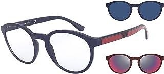 نظارات شمسية من امبوريو ارماني EA 4152 56691W لون ازرق مطفي